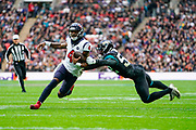 Houston Texans Quarterback Deshaun Watson (4) in action during the International Series match between Jacksonville Jaguars and Houston Texans at Wembley Stadium, London, England on 3 November 2019.