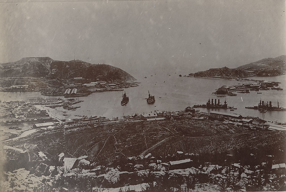 Overview of Port Arthur after heavy battles there. Russo-Japan War 1905.<br /> <br /> Mitsumura Shashin-han photo unit<br /> <br /> Collodion printing-out-paper print (POP)<br /> Size: 8 14/ x 5 1/2 inches.<br /> <br /> <br /> <br /> <br /> <br /> <br /> <br /> <br /> <br /> <br /> <br /> <br /> <br /> <br /> <br /> <br /> <br /> <br /> <br /> <br /> <br /> <br /> <br /> <br /> <br /> <br /> <br /> <br /> <br /> <br /> <br /> <br /> <br /> <br /> <br /> <br /> <br /> <br /> <br /> <br /> <br /> <br /> <br /> <br /> <br /> <br /> <br /> <br /> <br /> <br /> <br /> <br /> <br /> <br /> <br /> <br /> <br /> <br /> <br /> <br /> <br /> <br /> <br /> .
