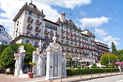 Hotel des iles Borromees, Stresa, Lake Maggiore, Northern Italy.