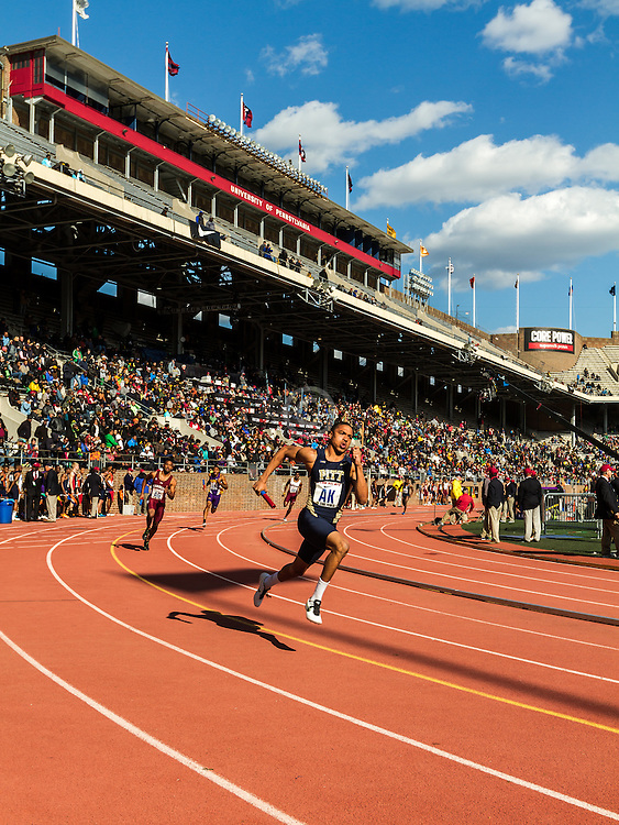 Penn Relays, Pitt, college men 4x400 relay