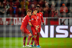 MUNICH, GERMANY - Wednesday, December 11, 2019: Bayern Munich's Philippe Coutinho Correia celebrates scoring the third goal during the final UEFA Champions League Group B match between FC Bayern München and Tottenham Hotspur FC at the Allianz Arena. Bayern Munich won 3-1. (Pic by David Rawcliffe/Propaganda)