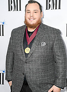 NASHVILLE, TENNESSEE - NOVEMBER 12: Luke Combs attends the 67th Annual BMI Country Awards at BMI on November 12, 2019 in Nashville, Tennessee.