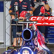 NLD/Zandvoort/20150628 - F1 demo Max Verstappen in de Toro Rosso