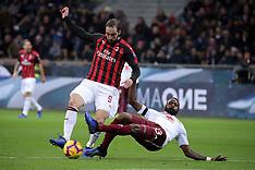 AC Milan v Torino FC - 09 Dec 2018