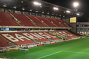 General view of Oakwell, as stewards receive their final instructions in the stands before the EFL Sky Bet Championship match between Barnsley and Nottingham Forest at Oakwell, Barnsley, England on 25 November 2016. Photo by Mark P Doherty.