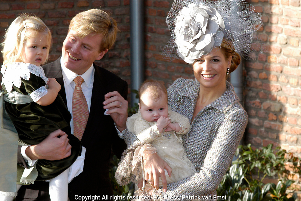 Hare Koninklijke Hoogheid Prinses Alexia, de jongste dochter van Zijne Koninklijke Hoogheid de Prins van Oranje en Hare Koninklijke Hoogheid Prinses M&aacute;xima, is zaterdag 19 november 2005 gedoopt in de Dorpskerk in Wassenaar. <br />