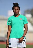 International Women's Friendly Matchs 2019 / <br /> Womens's Cyprus Cup Tournament 2019 - <br /> Nigeria v Thailand 3-0 ( Tasos Marko Stadium - Paralimni,Cyprus ) - <br /> Ini-Abasi Umotong of Nigeria