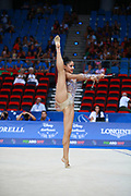 Tânia Domingues from Portugal was born in Coimbra in 1997.She took up rhythmic gymnastics at age seven.
