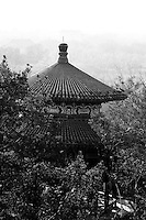 Pagoda in Jingshan Park behind the Forbidden City in Beijing.