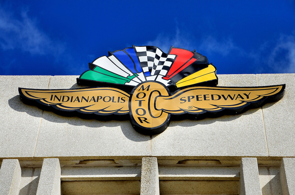 Indianapolis Motor Speedway Logo in Indianapolis, Indiana<br />