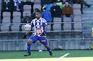2.4.2016, Sonera Stadion, Helsinki.<br /> Veikkausliiga 2016.<br /> Helsingin Jalkapalloklubi - IFK Mariehamn.<br /> Nikolai Alho - HJK