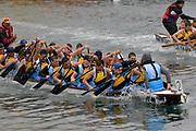 Wellington Dragon Boat Festival in Wellington, New Zealand on Sunday 12 March 2017.<br /> Photo by Masanori Udagawa<br /> www.photowellington.photoshelter.com.