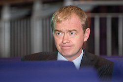 © Licensed to London News Pictures . 04/10/2014 . Glasgow , UK . President of the Liberal Democrats , TIM FARRON , at the conference . The Liberal Democrat Party Conference 2014 at the Scottish Exhibition and Conference Centre in Glasgow . Photo credit : Joel Goodman/LNP