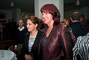 TRACEY EMIN; JANET STREET-PORTER, Counter Editions 10th anniversary party. Rivington Grill. Shoreditch. London. 5 May 2010 *** Local Caption *** -DO NOT ARCHIVE-© Copyright Photograph by Dafydd Jones. 248 Clapham Rd. London SW9 0PZ. Tel 0207 820 0771. www.dafjones.com.<br /> TRACEY EMIN; JANET STREET-PORTER, Counter Editions 10th anniversary party. Rivington Grill. Shoreditch. London. 5 May 2010