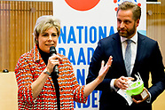Princess Laurentien and Minister Hugo de Jonge of Health