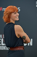 Fauve Hautot poses at a photocall for the TV series 'Dance with the star' during the 55th Monte Carlo TV Festival on June 13, 2015 in Monte-Carlo, Monaco