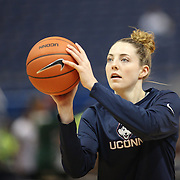 HARTFORD, CONNECTICUT- JANUARY 10: Katie Lou Samuelson #33 of the Connecticut Huskies during warm up with teammates before the the UConn Huskies Vs USF Bulls, NCAA Women's Basketball game on January 10th, 2017 at the XL Center, Hartford, Connecticut. (Photo by Tim Clayton/Corbis via Getty Images)
