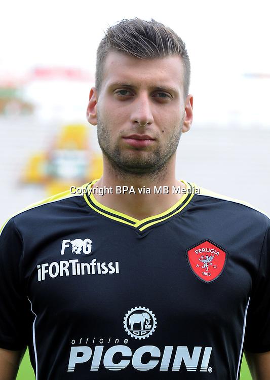 Italian League Serie B_2015-2016 / <br /> ( AC Perugia 1905 ) - <br /> Lukas Zima