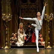 The St Petersburg Ballet Theatre performing SWAN LAKE at The Coliseum London UK  on 22.08.2018 Kimin Kim