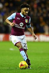Jordan Amavi of Aston Villa - Mandatory by-line: Dougie Allward/JMP - 14/01/2017 - FOOTBALL - Molineux - Wolverhampton, England - Wolverhampton Wanderers v Aston Villa - Sky Bet Championship