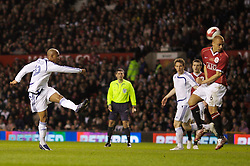 Manchester, England - Tuesday, March 13, 2007: Europe XI's El-Hadji Diouf in action against Manchester United during the UEFA Celebration Match at Old Trafford. (Pic by David Rawcliffe/Propaganda)