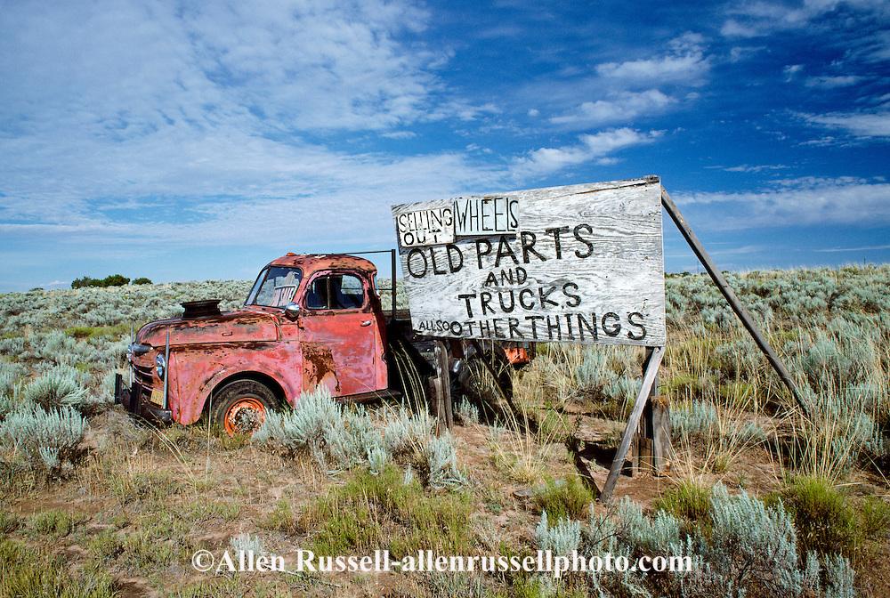 Whitey\'s Junk yard, Navajo Arizona | Allen Russell Photography