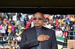 August 8, 2017: FILE: South Africa's parliament debates over a no-confidence motion on President JACOB ZUMA, debate is also over the future of the ruling African National Congress. The former liberation movement has led South Africa since the first all-race elections in 1994, but some parliament members warn that the ANC will lose support if Zuma is allowed to stay in office. If the no-confidence motion succeeds, Zuma will have to resign immediately. He has survived such votes in the past, but this is the first to use a secret ballot. The ANC had its worst showing last year in municipal elections as Zuma faced allegations of corruption. Pictured: GIYANI, April 27, 2016 (Xinhua) -- South African President Jacob Zuma attends a rally marking the Freedom Day in Giyani, Limpopo Province, north of South?Africa, on April 27, 2016.  South?African President Jacob Zuma on Wednesday called for economic transformation, pledging to continue implementing black economic empowerment (BEE) and affirmative action programs.?(Xinhua/DOC/Elmond Jiyane) (Credit Image: © Xinhua via ZUMA Wire)