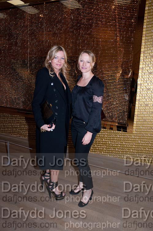 FRU THOLSTRUP; CHEYENNE WESTPHAL;, Damien Hirst, Tate Modern: dinner. 2 April 2012.