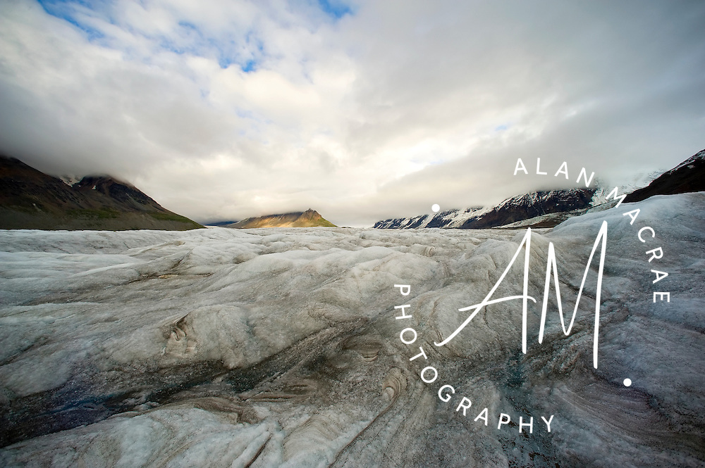 Yentna glacier, Denali National Park, Alaska