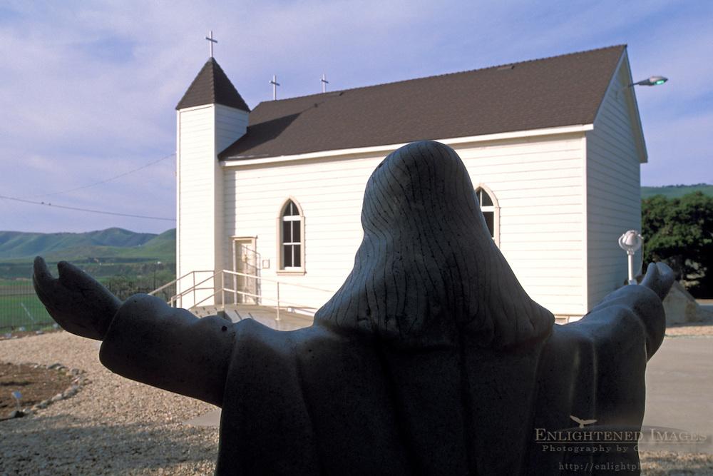 Historic San Ramon Chapel (est. 1875) Santa Maria Valley, near Santa Maria, Santa Barbara County, California