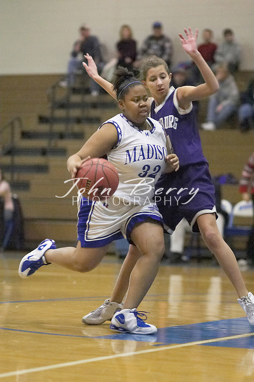 MCHS JV Girls Basketball..vs Strasburg..First Period..December 17, 2004