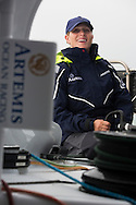 Image licensed to Lloyd Images - Free for editorial use<br /> The 2015 Artemis Challenge as part of Aberdeen Asset Management Cowes Week 2015. Cowes. Isle of Wight. Pictures of Zara Phillip on board Artemis Ocean Racing II at the start of the 2015 Artemis Challenge Credit: Lloyd Images