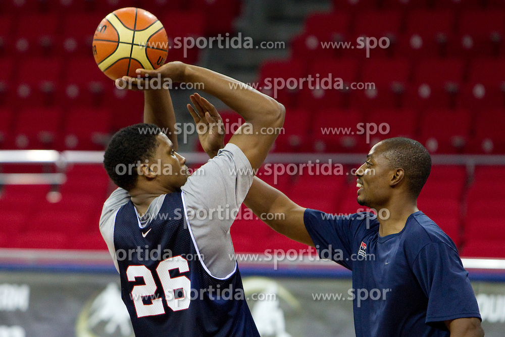 of the USA Senior Men's National Team during practice prior to the 2010 World Championships of Basketball on August 27, 2010 at Abdi Ipekci Arena in Istanbul, Turkey. (Photo by Vid Ponikvar / Sportida)