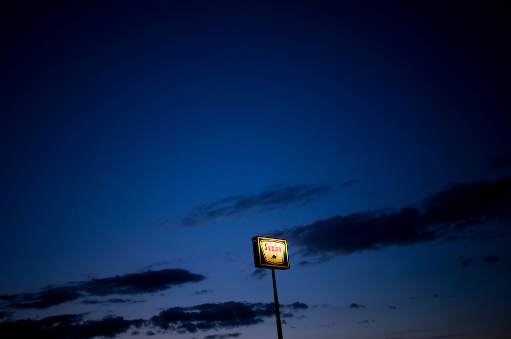 A truck stop in Green River, Utah..Photographer: Chris Maluszynski /MOMENT