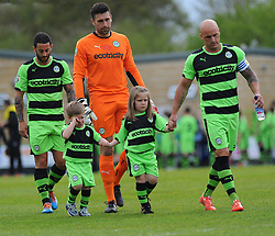 - Photo mandatory by-line: Nizaam Jones - Mobile: 07966 386802 - 25/04/2015 - SPORT - Football - Nailsworth - The New Lawn - Forest Green Rovers v Dover - Vanarama Conference League
