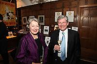 Herve? Deschamps (Perrier-Jouet) and Nancy Jarrett