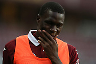 Torino FC's Ivorian defender Wilfried Singo during the Serie A match at Stadio Grande Torino, Turin. Picture date: 20th June 2020. Picture credit should read: Jonathan Moscrop/Sportimage