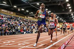 2020 USATF Indoor Championship<br /> Albuquerque, NM 2020-02-14<br /> photo credit: © 2020 Kevin Morris<br /> mens 3000m, Nike
