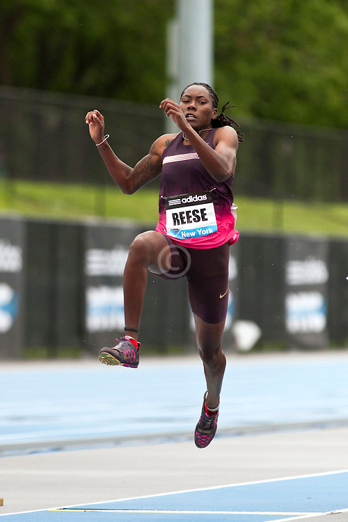 adidas Grand Prix Diamond League professional track & field meet: Brittany Reese, womens long jump
