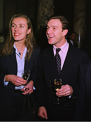 COUNT & COUNTESS PHILIP VON STAUFFENBERG at a party in London on 25th November 1997.MDR 37