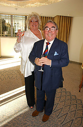 RONNIE CORBETT and his wife ANNE at the Lady Taverners Tribute lunch in honour of Ronnie Corbett held at The Dorchester Hotel, Park Lane, London on 3rd November 2006.<br /><br />NON EXCLUSIVE - WORLD RIGHTS