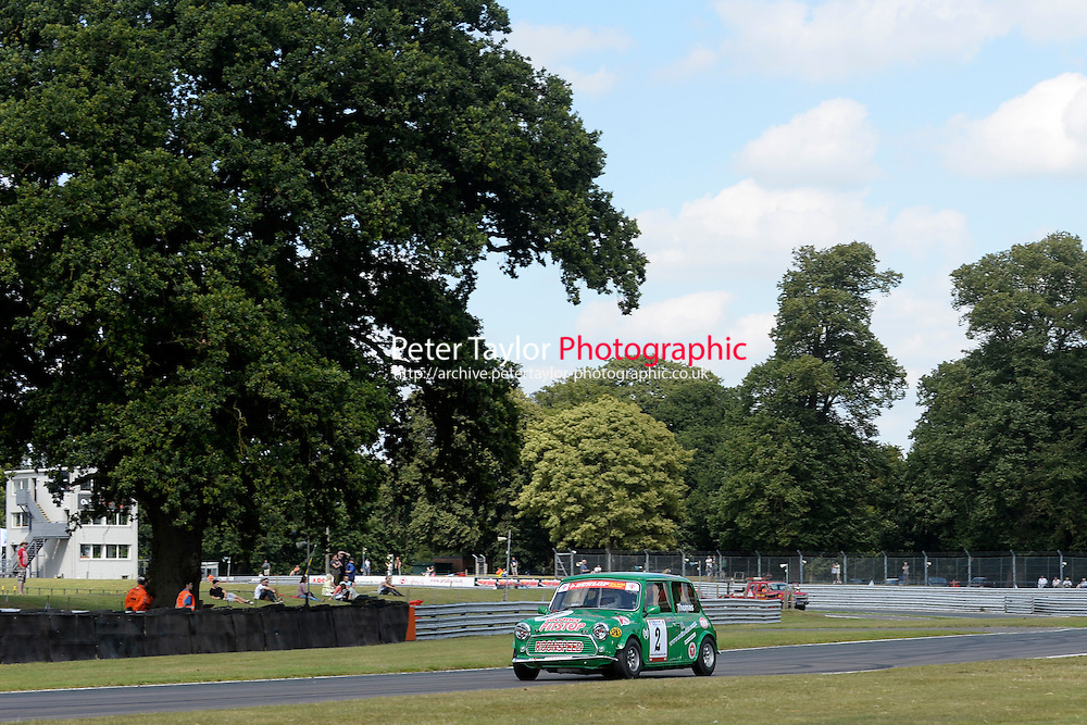 #2 Darren Thomas Mini 7 during Mini Se7en - Race 1  as part of the Mini Festival  at Oulton Park, Little Budworth, Cheshire, United Kingdom. August 08 2015. World Copyright Taylor/PSP. Copy of publication required for printed pictures.  Every used picture is fee-liable. http://archive.petertaylor-photographic.co.uk