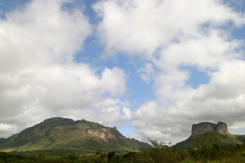 Lencois_BA, Brasil...Chapada Diamantina. Na foto, o Morro do Pai Inacio...Chapada Diamantina. In this photo, Morro do Pai Inacio...Foto: LEO DRUMOND / NITRO