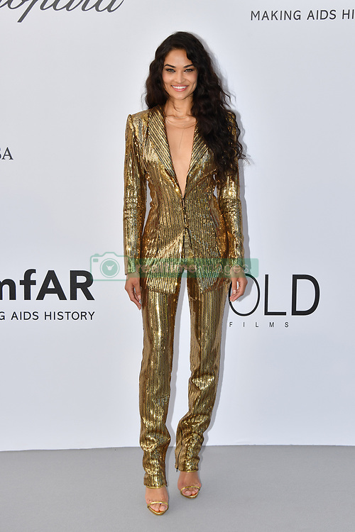 Shanina Shaik attends the 2018 amfAR Gala on May 17, 2018 in Cap D'Antibes, France. Photo by Lionel Hahn/ABACAPRESS.COM