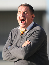 Martin Allen Managaer Barnet FC, Barnet v Eastleigh, Vanarama Conference, Saturday 4th October 2014