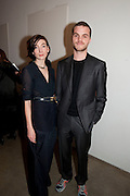 MARICKE VON DONGEN; MATTHIEU BLAZY, Wallpaper* Design Awards. Wilkinson Gallery, 50-58 Vyner Street, London E2, 14 January 2010 *** Local Caption *** -DO NOT ARCHIVE-© Copyright Photograph by Dafydd Jones. 248 Clapham Rd. London SW9 0PZ. Tel 0207 820 0771. www.dafjones.com.<br /> MARICKE VON DONGEN; MATTHIEU BLAZY, Wallpaper* Design Awards. Wilkinson Gallery, 50-58 Vyner Street, London E2, 14 January 2010