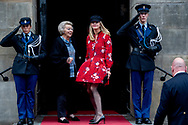 6-12-2018 AMSTERDAM - King Willem-Alexander, Queen Maxima, Princess Beatrix, Prince Constantijn and Princess Mabel are present at the presentation of the Grand Prince Claus Award 2018 at the Market Photo Workshop; a cultural platform and training institute in Johannesburg, South Africa. Copyright Robin Utrecht