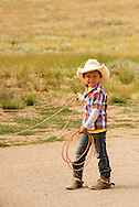 Rocky Boy Rodeo-kids-Indians-roping-Rocky Boy Reservation-Montana-Indian Cowboys