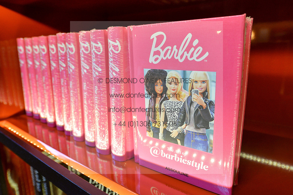 The Art of @barbiestyle Book Launch held at Maison Assouline, Piccadilly, London on 15 June 2017.Photo by Dominic O'Neill/SilverHub 0203 174 1069/ 07711972644 - Editors@silverhubmedia.com