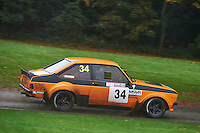 #34 Cliff Evans / Matthew Jones Ford Escort RS 116GMC Concrete @ DSR Motorsportduring Neil Howard Memorial Stage Rally, and opening round of the 2015 Motorsport News Rally Championship.  at Oulton Park, Little Budworth, Cheshire, United Kingdom. November 07 2015. World Copyright Peter Taylor. Copy of publication required for printed pictures.  Every used picture is fee-liable. http://archive.petertaylor-photographic.co.uk